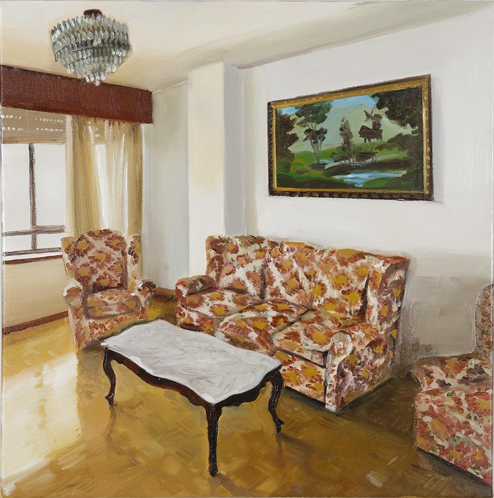 Sala con tresillos